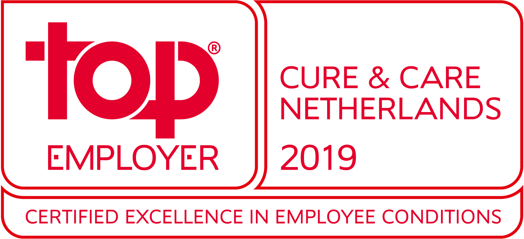 Top Employer Cure and Care 2019